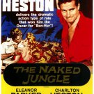 Naked Jungle (1954) - Charlton Heston DVD