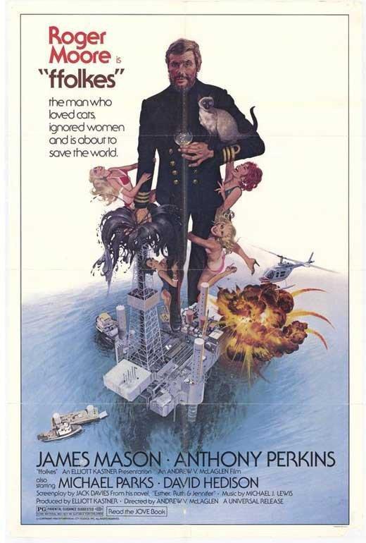North Sea Hijack AKA Ffolkes (1979) - Roger Moore DVD
