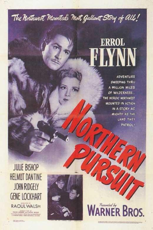 Northern Pursuit (1943) - Errol Flynn DVD