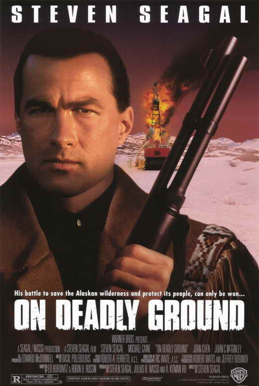 On Deadly Ground (1994) - Steven Seagal DVD
