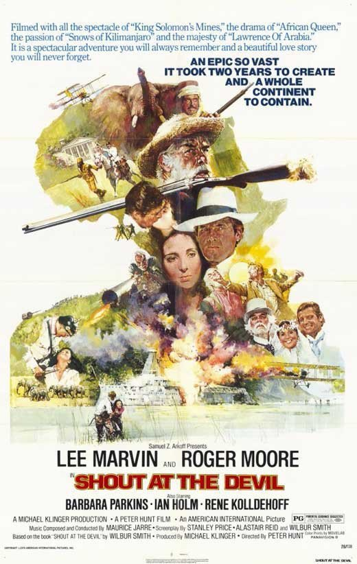 Shout At The Devil (1976) - Roger Moore DVD