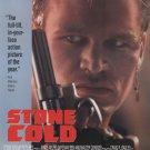 Stone Cold (1991) - Brian Bosworth DVD