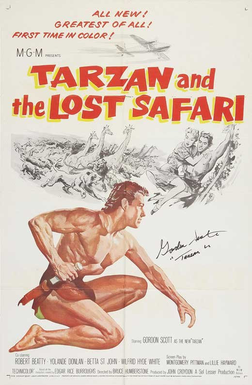 Tarzan And The Lost Safari (1957) - Gordon Scott DVD