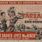 Tarzan And The She-Devil (1953) - Lex Barker DVD