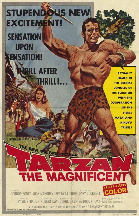 Tarzan The Magnificent (1960) - Gordon Scott DVD