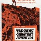 Tarzan´s Greatest Adventure (1959) - Gordon Scott DVD
