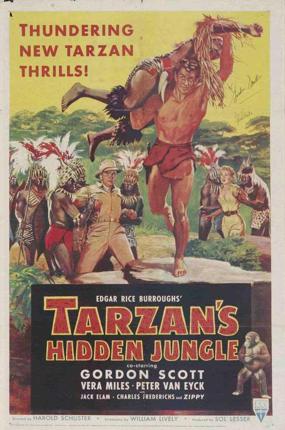 Tarzan´s Hidden Jungle (1955) - Gordon Scott DVD