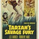 Tarzan´s Savage Fury (1952) - Lex Barker DVD