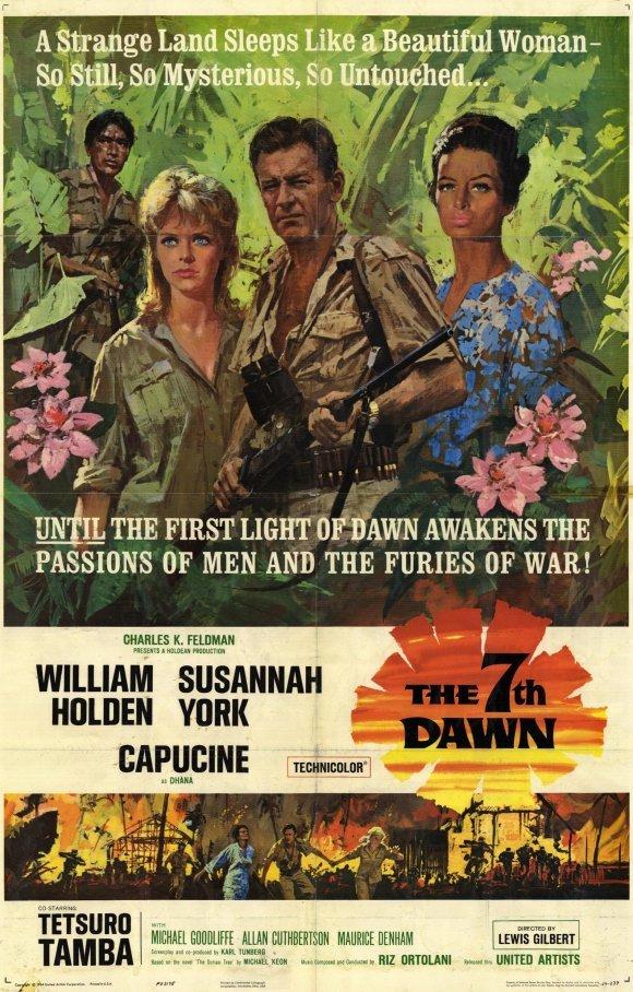 The 7th Dawn (1964) - William Holden DVD