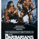 The Barbarians (1987) - Ruggero Deodato DVD