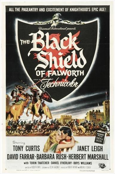 The Black Shield Of Falworth (1954) - Tony Curtis DVD