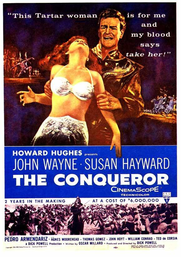 The Conqueror (1956) - John Wayne DVD