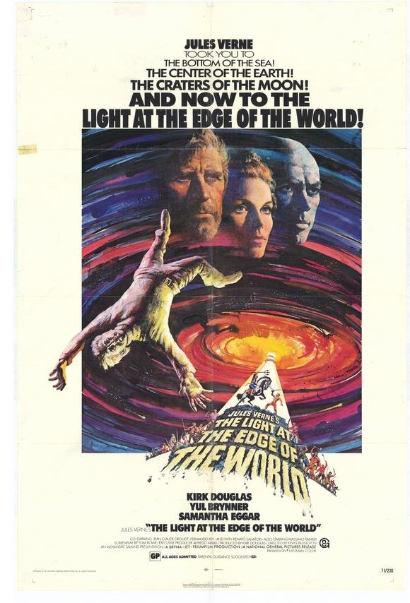 The Light At The Edge Of The World (1971) - Kirk Douglas DVD