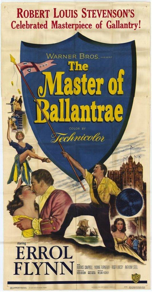 The Master Of Ballantrae (1953) - Errol Flynn DVD