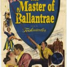 The Master Of Ballantrae (1953) - Errol Flynn DVD