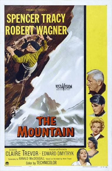 The Mountain (1956) - Spencer Tracy DVD