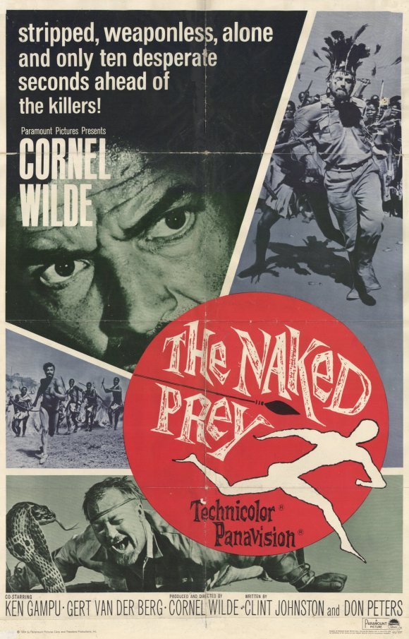 The Naked Prey (1966) - Cornel Wilde DVD