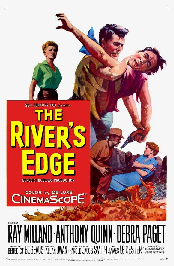 The River´s Edge (1957) - Anthony Quinn DVD