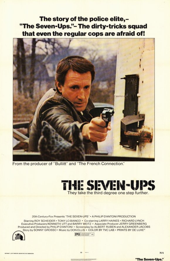 The Seven-Ups (1973) - Roy Scheider DVD