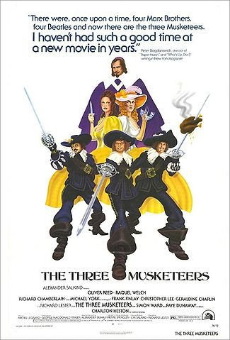 The Three Musketeers (1973) - Michael York DVD
