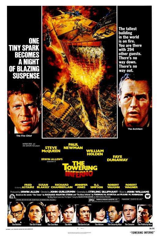 The Towering Inferno (1974) - Steve McQueen DVD