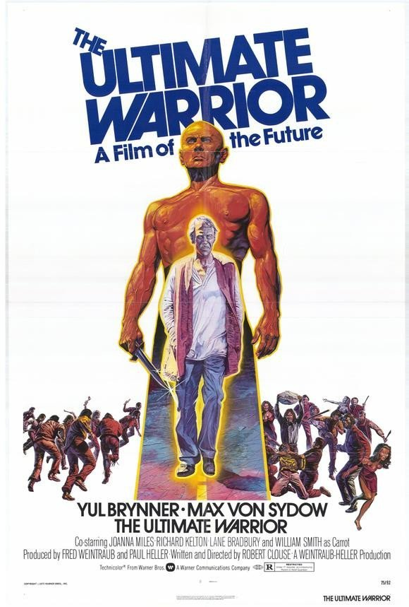 The Ultimate Warrior (1975) - Yul Brynner DVD