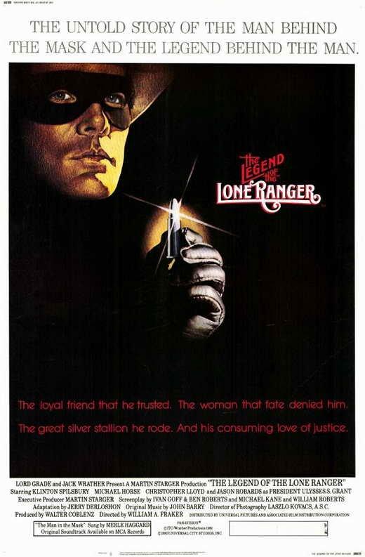 The Legend Of The Lone Ranger (1981) - Christopher Lloyd  DVD