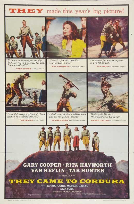 They Came To Cordura (1959) - Gary Cooper DVD