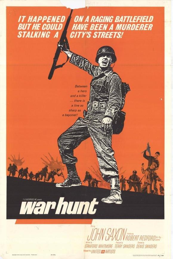 War Hunt (1962) - Robert Redford DVD