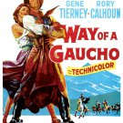 Way Of A Gaucho (1952) - Rory Calhoun DVD