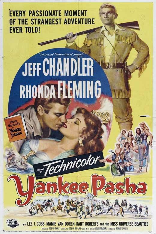 Yankee Pasha (1954) - Jeff Chandler DVD