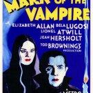 Mark Of The Vampire (1935) - Bela Lugosi  Colorized DVD