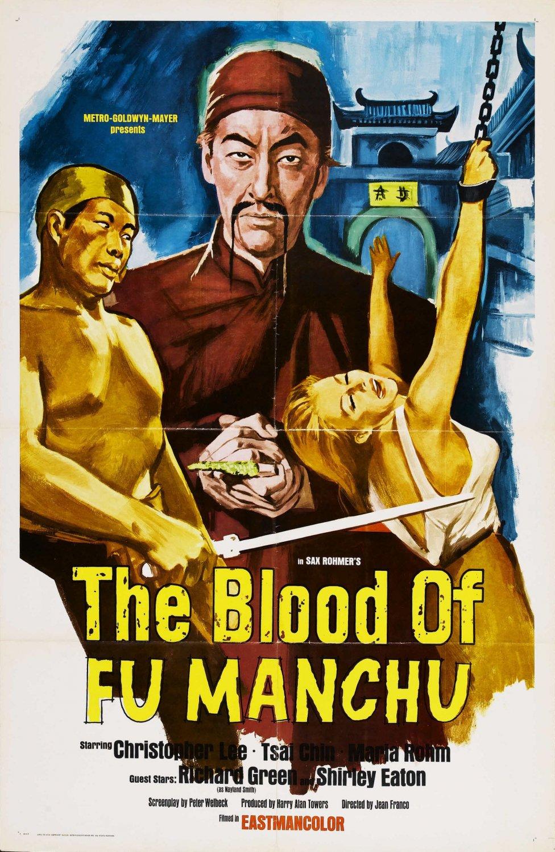 Fu Man Chu : The Blood Of Fu Man Chu (1968) - Christopher Lee  DVD