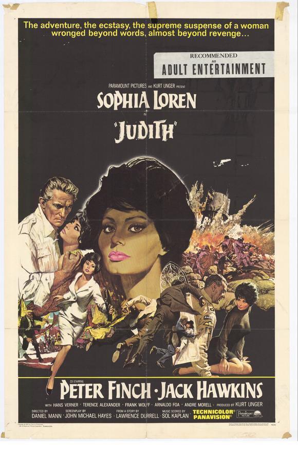 Judith (1966) - Sophia Loren  DVD