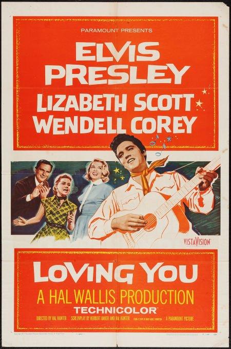 Loving You (1957) - Elvis Presley  DVD