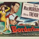 Borderline (1950) - Fred MacMurray  DVD