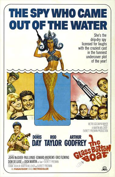 The Glass Bottom Boat (1966) - Doris Day  DVD