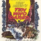 Ten Who Dared (1960) - Brian Keith  DVD