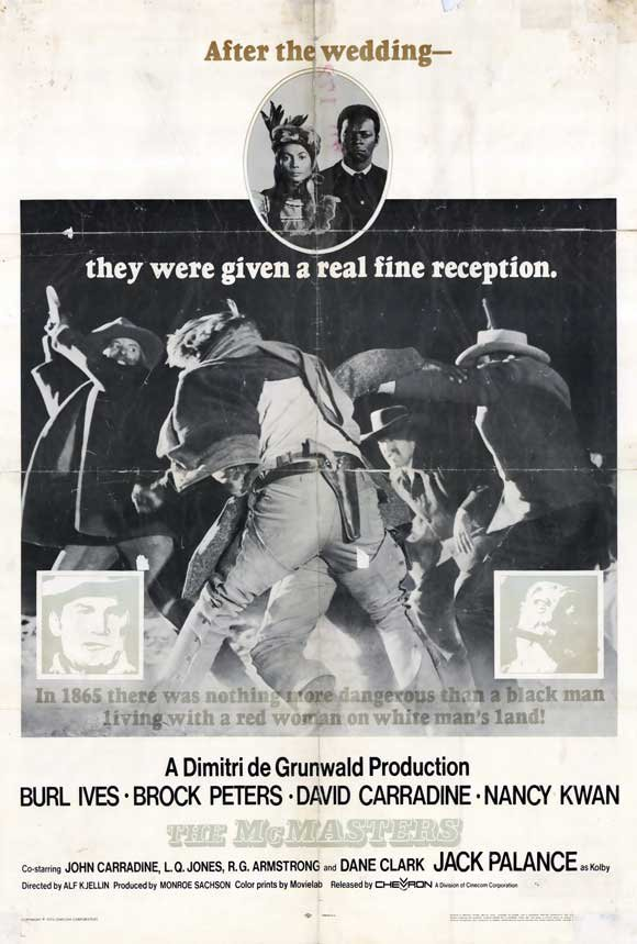 The McMasters (1970) - Jack Palance  DVD