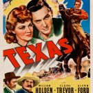 Texas (1941) - Glenn Ford  DVD