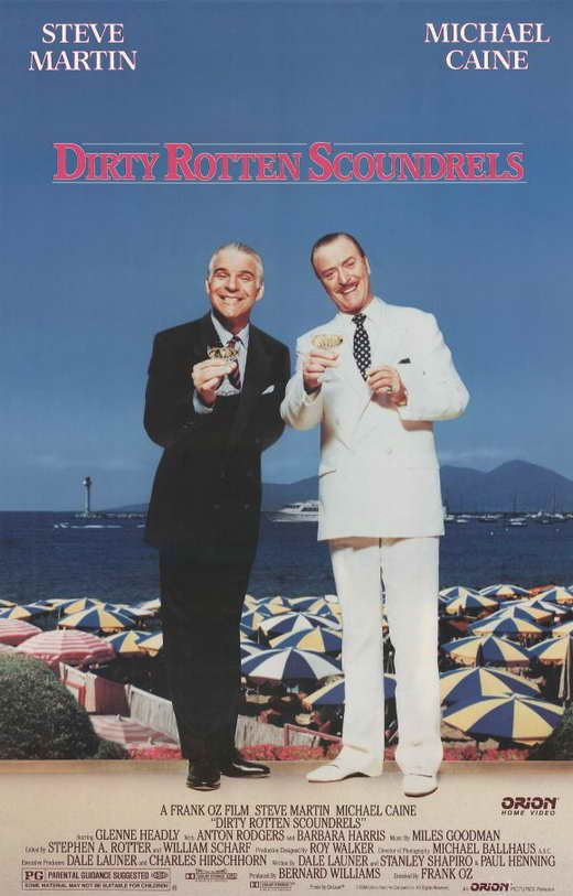 Dirty Rotten Scoundrels (1988) - Michael Caine  DVD