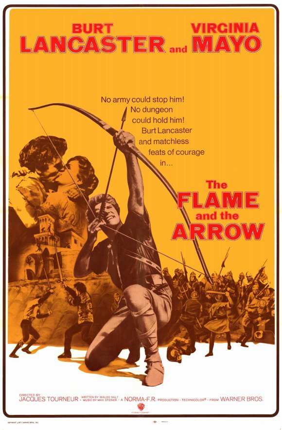 The Flame And The Arrow (1950) - Burt Lancaster  DVD