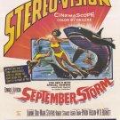 September Storm (1960) - Robert Strauss  DVD