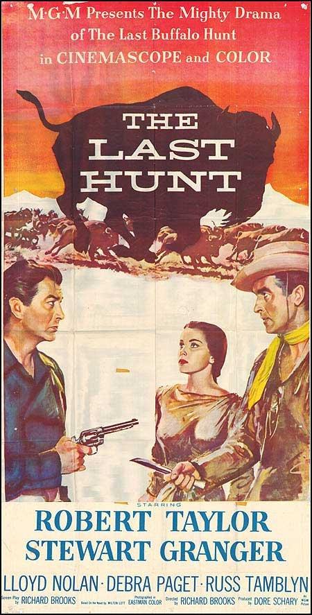 The Last Hunt (1956) - Robert Taylor  DVD