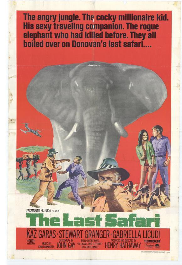 The Last Safari (1967) - Stewart Granger  DVD