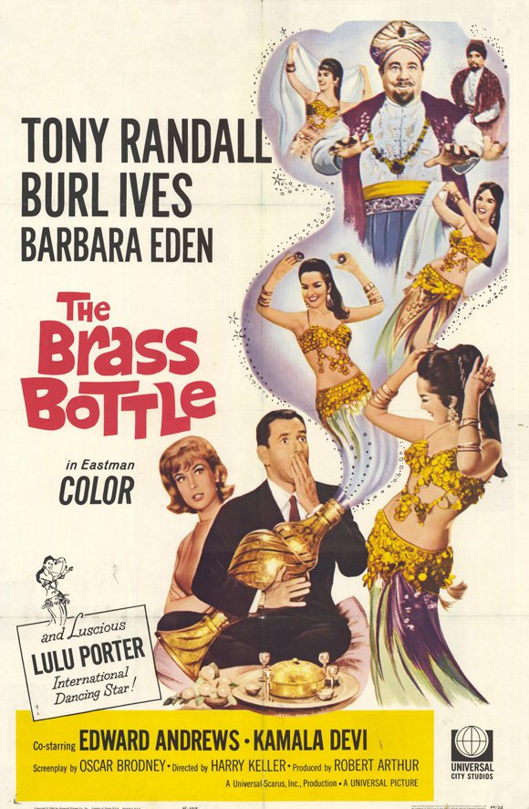 The Brass Bottle (1964) - Tony Randall  DVD