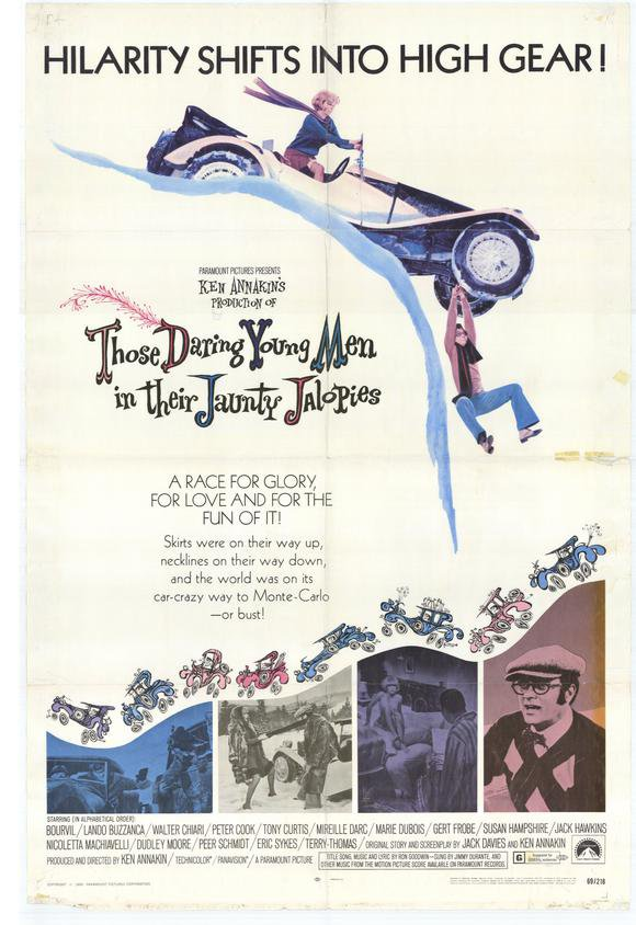Those Daring Young Men in their Jaunty Jalopies (1969) - Tony Curtis  DVD
