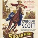 Sugarfoot (1951) - Randolph Scott  DVD