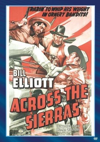 Across The Sierras (1941) - Bill Elliott  DVD