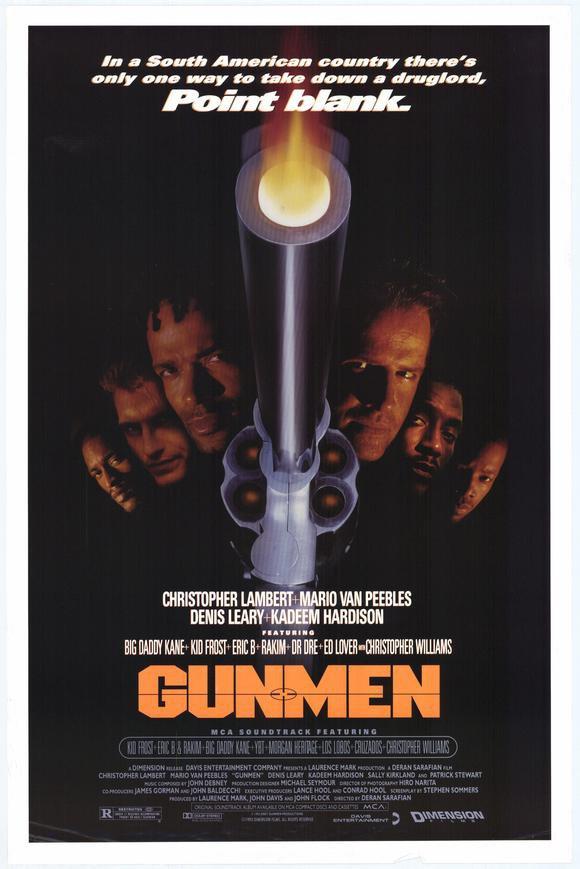 Gunmen (1994) - Christopher Lambert  DVD